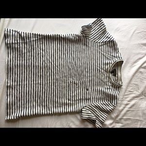 Urban outfitters striped knit tshirt